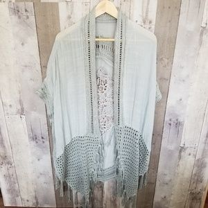 Other - Hand made cover up grayish green one size fits all